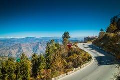 Weg van Himalayagebergte India royalty-vrije stock afbeeldingen