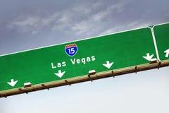 Weg 15 van Las Vegas Stock Foto's