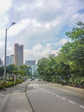 Weg van Medellin Colombia Royalty-vrije Stock Afbeeldingen
