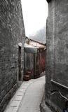 Weg van oude stad in Hong Kong Royalty-vrije Stock Foto's