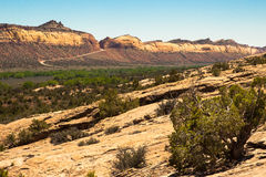 Weg 95 van Utah Royalty-vrije Stock Afbeeldingen