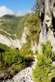 Weg vom reifen in den Pyrenäen Lizenzfreie Stockfotografie