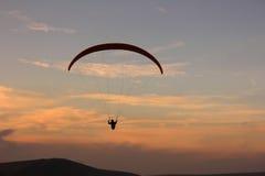 Weg in vom Sonnenuntergang Lizenzfreie Stockbilder