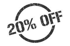 20% weg vom Stempel lizenzfreie abbildung