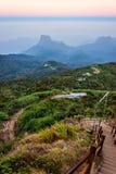 Weg von Adams-Spitze, Sri Lanka Stockfotografie