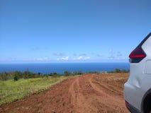 Weg von der Straße Hawaii Lizenzfreies Stockfoto