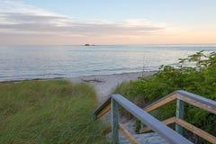 Weg zu einem Florida befestigt Ferien Lizenzfreie Stockfotografie