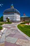 Weg zu Howard Peters Rawlings Conservatory, Baltimore. stockbild