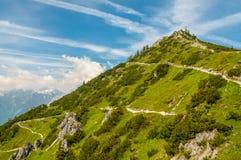 Weg zum Gipfel Lizenzfreies Stockbild