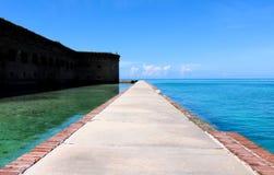Weg zum Meer stockfotografie