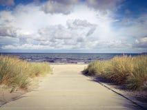 Weg zum Strand Stock Photography