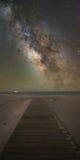Weg zur Milchstraße-Galaxie Stockfotografie