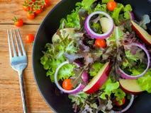 Weganinów warzywa sałatkowi Zdjęcia Royalty Free