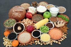 Weganinów zdrowie jedzenia kolekcja zdjęcia stock