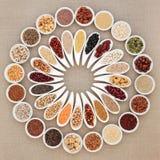 Weganin Wysoki - proteinowy zdrowia jedzenie fotografia royalty free