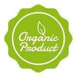 Weganinu guzik - Organicznie produkt odznaka ilustracja wektor