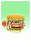 Weganinu hamburger Zdjęcie Stock