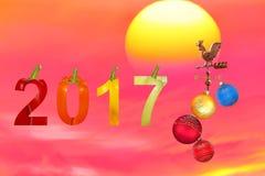 Weganinu nowy rok Obrazy Royalty Free