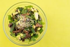 Weganinu zdrowy jedzenie Fotografia Stock
