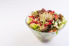 Weganinu zdrowy jedzenie Zdjęcia Stock