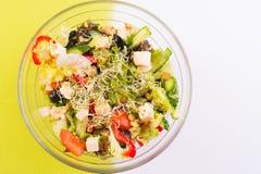 Weganinu zdrowy jedzenie Fotografia Royalty Free
