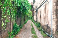 Wege in der Stadt Stockbild