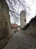 Wege von Warburg Stockbilder