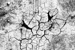Wegen der Dürre Lizenzfreie Stockfotografie