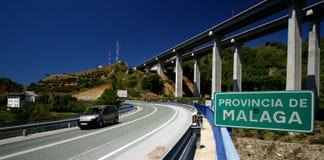 Wegen in Spanje Stock Foto