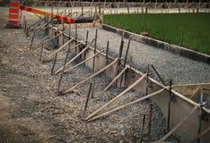 Wegenbouw Royalty-vrije Stock Afbeelding