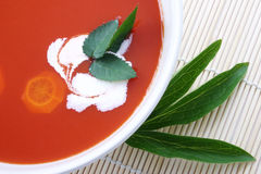 Wegetable Soup Royalty Free Stock Images