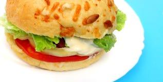 wegetariańskie hamburgery szczególne fotografia stock