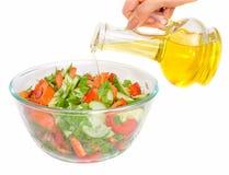 wegetarianin roślin oleju sałatkę Obrazy Stock