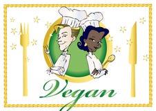 wegetarianin weganinu serii Zdjęcie Royalty Free