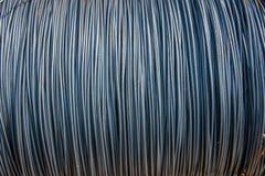 Weggelaufener Stahl für Hochbau Lizenzfreie Stockbilder