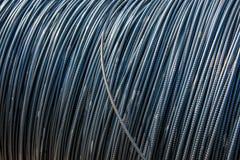 Weggelaufener Stahl für Hochbau Lizenzfreie Stockfotos