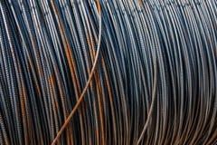 Weggelaufener Stahl für Hochbau Lizenzfreies Stockfoto