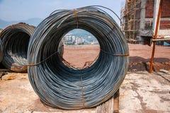Weggelaufener Stahl für Hochbau Stockbilder