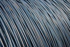 Weggelaufener Stahl für Hochbau Stockfoto