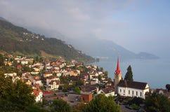 weggis vierwaldstaettersee της Ελβετίας Στοκ φωτογραφία με δικαίωμα ελεύθερης χρήσης