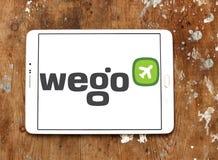 Wego旅行公司商标 免版税库存图片