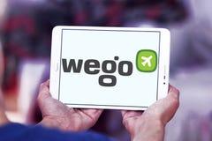 Wego旅行公司商标 免版税图库摄影