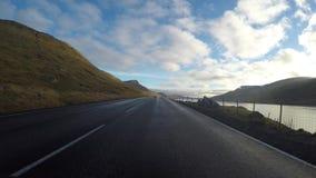 Wegpens in de Faeröer stock video