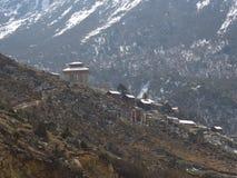 Wegreis aan Yumthang-Vallei, Sikkim INDIA, 15 APRIL 2013: Y royalty-vrije stock afbeeldingen