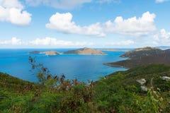 Wegstad, Tortola royalty-vrije stock afbeelding