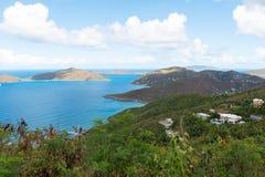 Wegstad, Tortola royalty-vrije stock foto