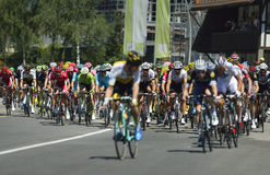 "Wegstadium 17 Tour de France 2016: Bern-swi †""Finhaut Emosson (swi) Stockfoto"