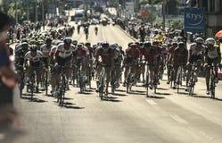 "Wegstadium 17 Tour de France 2016: Bern-swi †""Finhaut Emosson (swi) Lizenzfreie Stockbilder"