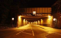 Wegtunnel Stock Foto