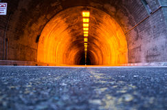 Wegtunnel Royalty-vrije Stock Foto's